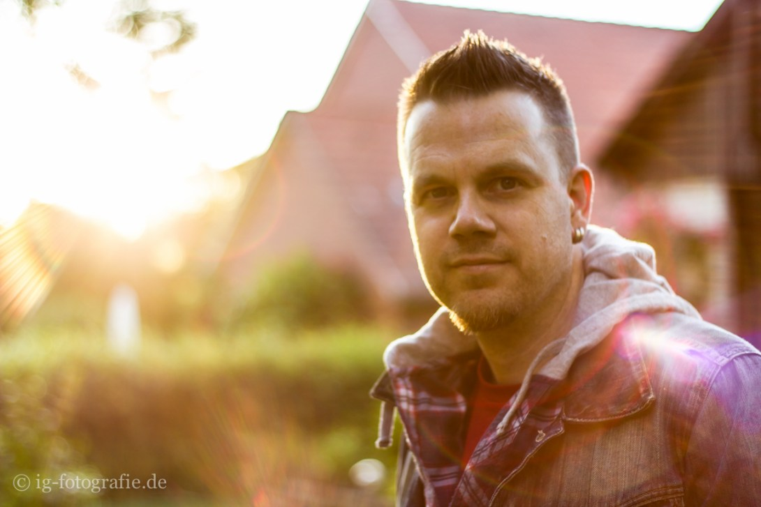 Lifestyle Fotografie - against the sun