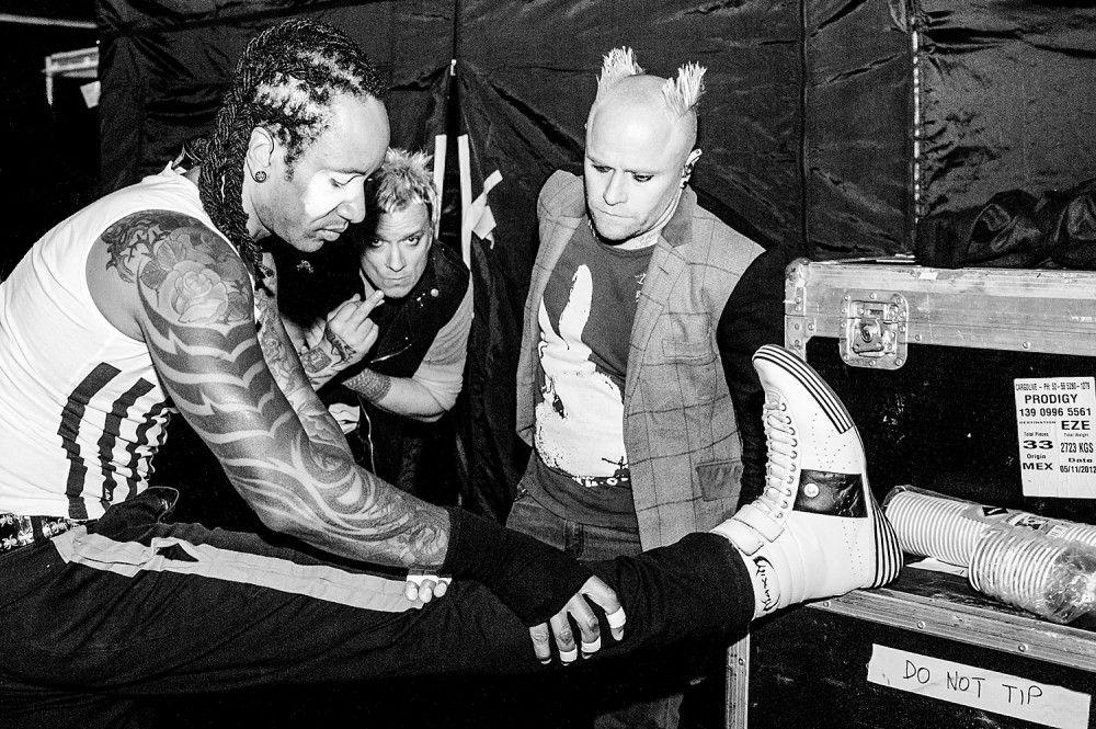 The Prodigy, Backstage. Foto Musikfotograf Matthias Hombauer