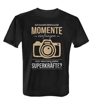 Die Geschenkidee: Das perfekte T-Shirt für Fotografen