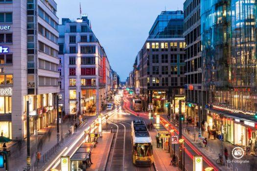 """Fototour durch Berlin - zur """"Blauen Stunde"""""""