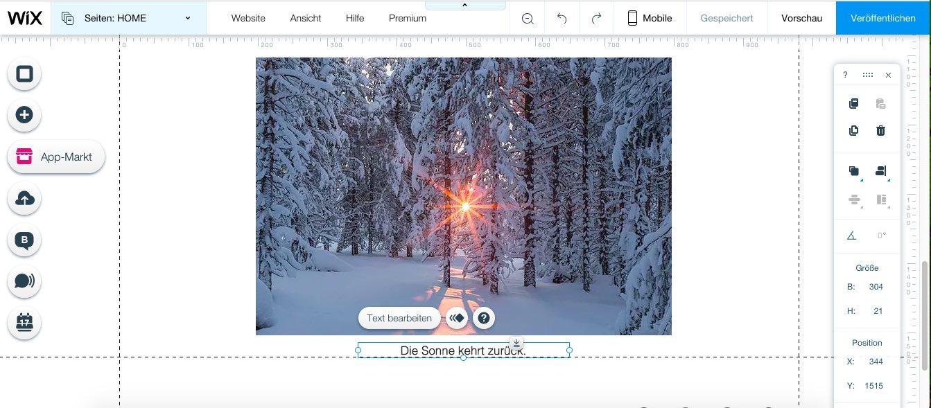 Produkttest: Eine eigene Fotografen-Homepage erstellen | ig ...