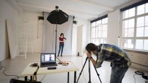 making-of-bild Fotoshooting