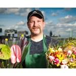 Frische Blumen in Humboldter Kneipen