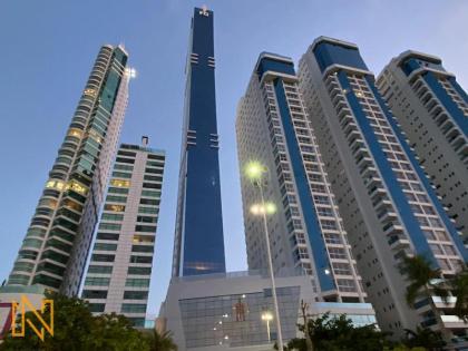 Apartamento no Edifício Epic Tower à Venda - Apartamento Frente Mar de Alto Padrão com 5 Suítes em Balneário Camboriú