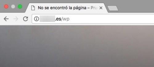 Mensaje 1 de Google con Chrome