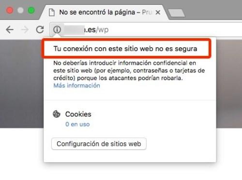 Mensaje 2 de Google con Chrome