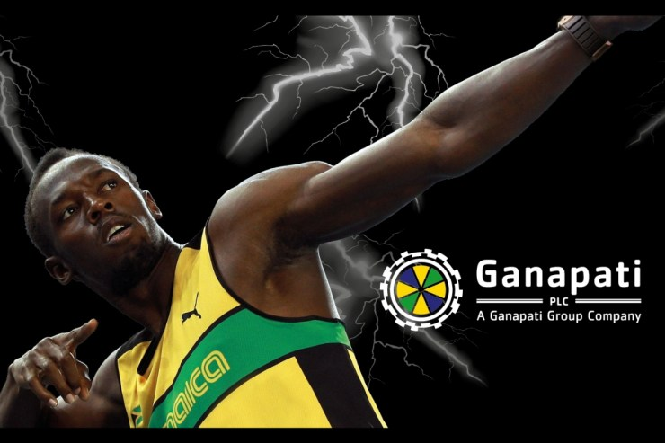 Ganapati PLC Teams Up With Usain Bolt