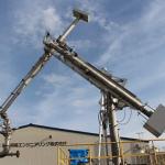 液化⽔素⽤船陸間移送ローディングアーム