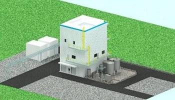 機能材製造設備の完成イメージ