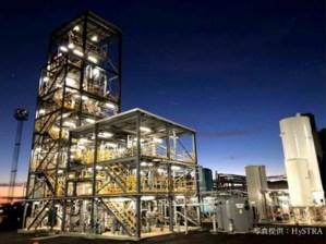 褐炭ガス化・水素精製設備