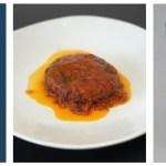 宇宙日本食「北海道産牛肉とミニトマトのハンバーグ」