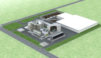 木質バイオマス発電所