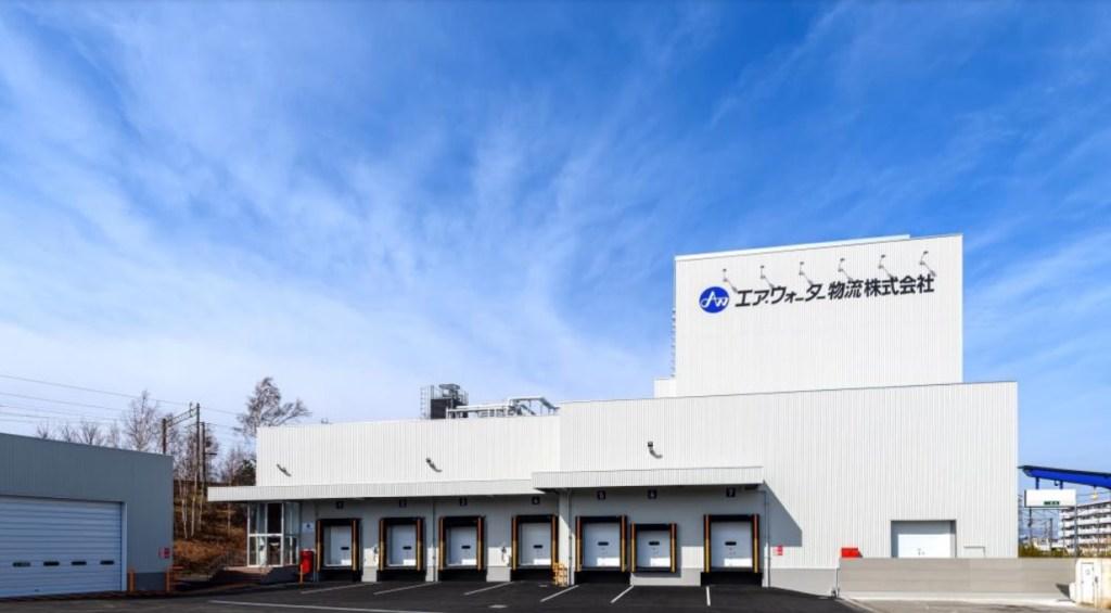 エア・ウォーター物流「札幌低温第2センター」外観