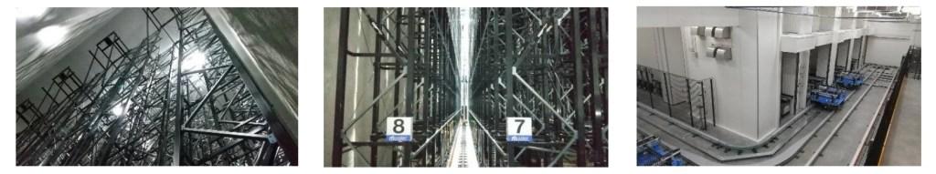 エア・ウォーター物流「札幌低温第2センター」自動倉庫