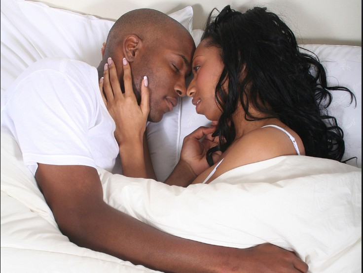 "couple-in-bed ""How My Husband Stopped Quick Ej@culation & Watery Sperm With Bitter Kola & Watermelon"" – Excited Woman"