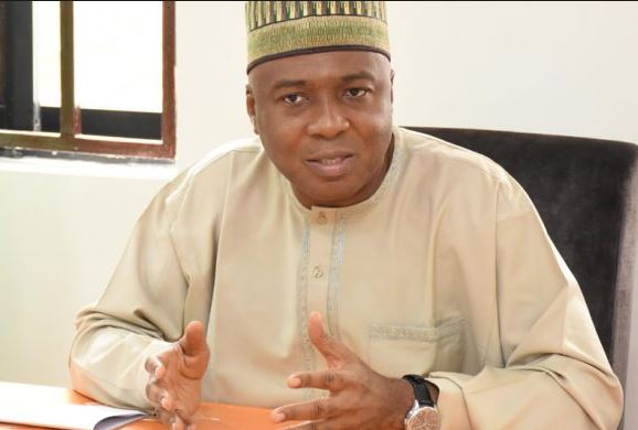Image result for Saraki Risks Jail As Kwara Gov-elect Abdulrazaq Open Can Of Worms