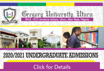 Gregory University Uturu, Abia State