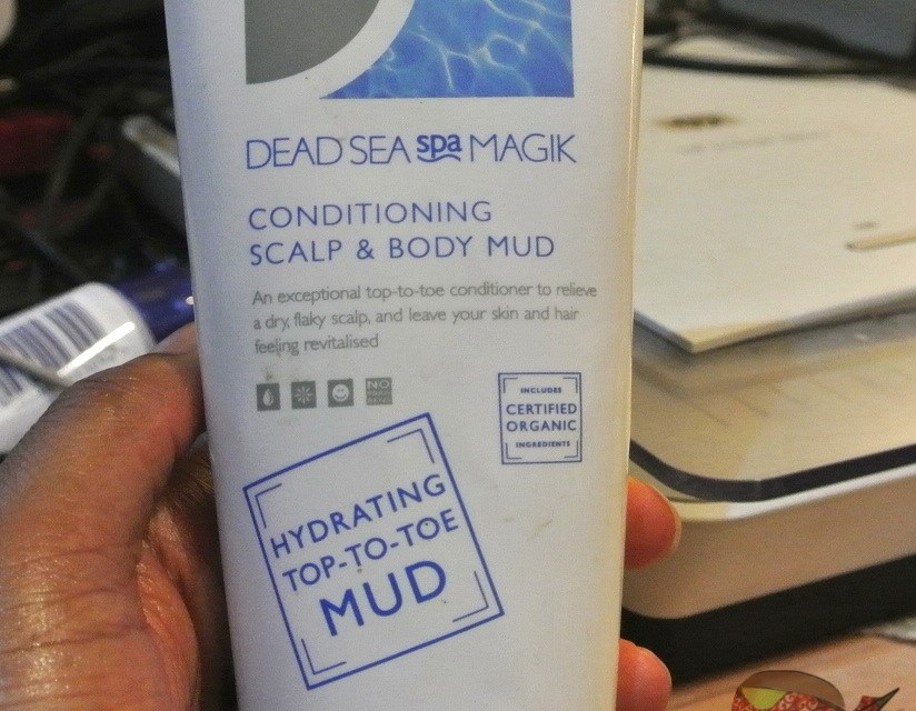 Dead Sea Spa Magik: Conditioning Scalp & Body Mud