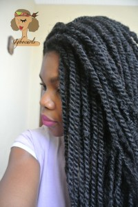 dsc_7355 How to manage hair in Kinky Twists / Box Braids - Quick  and Easy Method
