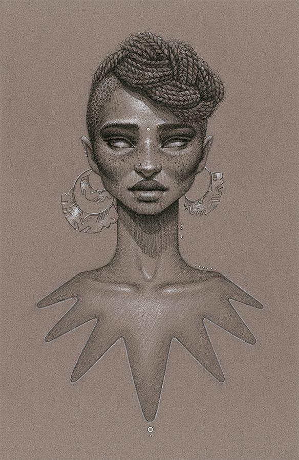 197c06f9d1a45ec57fdbf7615ea09036 Natural Hair Art - Sara Golish
