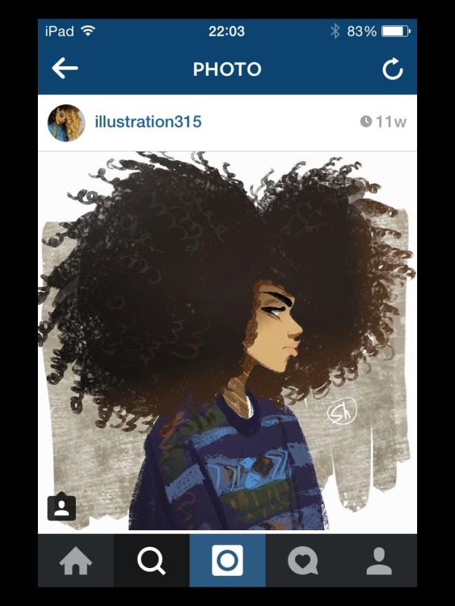 img_6293 Natural Hair in Art