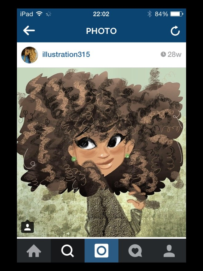img_6303 Natural Hair in Art