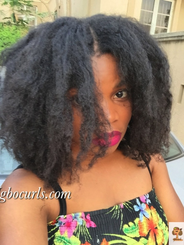 img_2174-768x1024 How To: 'Temporarily' Retain Stretched Natural hair