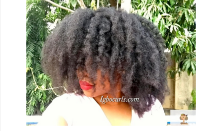 Black Girl with Long Hair Type 4 Natural Hair Icon