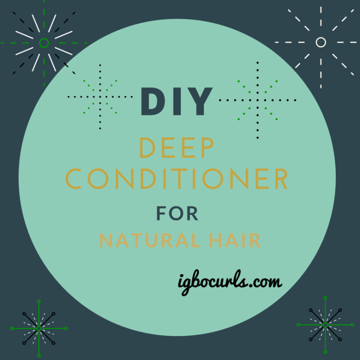 DiY Moisturizing conditioner for natural hair