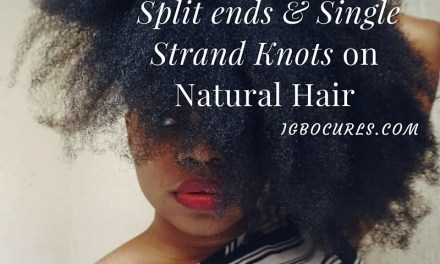 How to Significantly Reduce Split Ends on Natural Hair