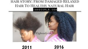 how-tounhealthy-relaxed-hair-to-300x169 3 Simple Steps Showing How To Go Natural Like a Pro