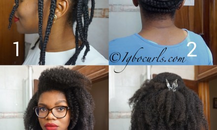 How To Stretch Natural Hair Without Heat – Braid Out