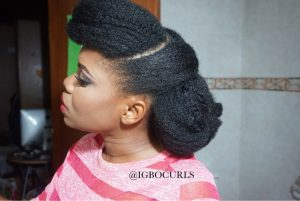 IMG_5165-300x201 5 Ways to Style Natural Hair for Weddings, Prom & Graduation