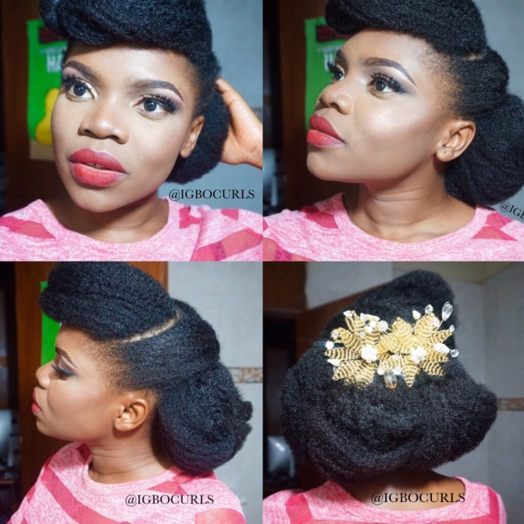 How to style natural hair for weddings