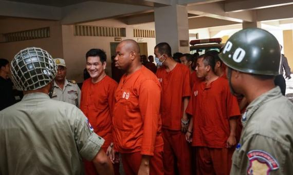 Image result for Nigerian drug baron gets 27 years in Cambodia