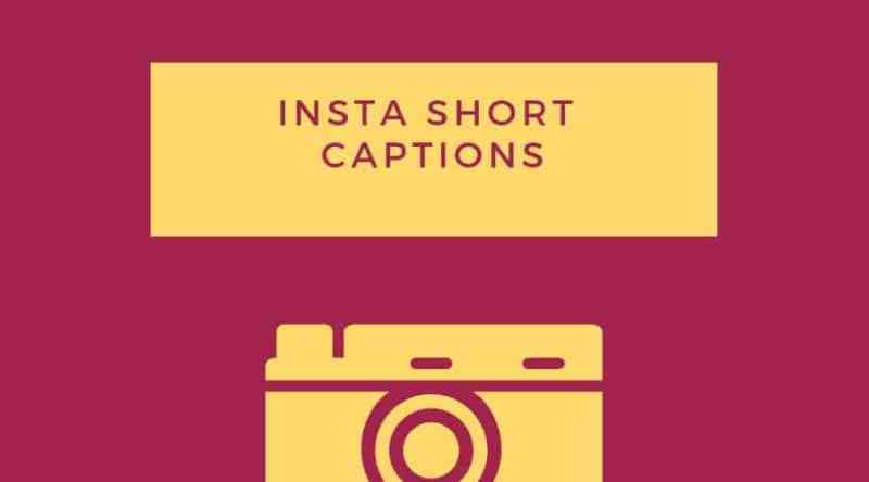 Instagram Short captions