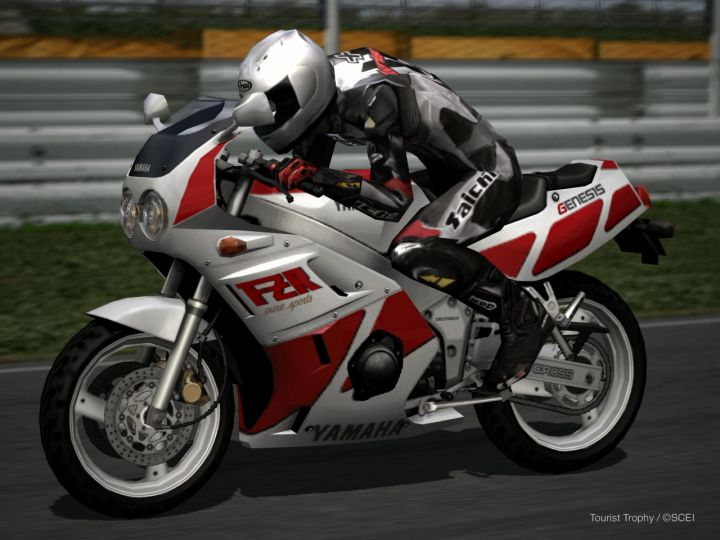 Igcd Yamaha Fzr 400 In Tourist Trophy The Real