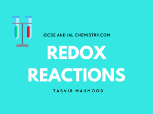 redox reactions in chemistry