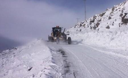 Iğdır'da kar yağışı 4 köy yolunu ulaşıma kapattı