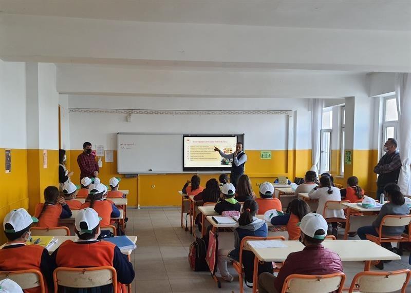 Okullarda 'Dünya Gıda Günü' etkinliği düzenlendi