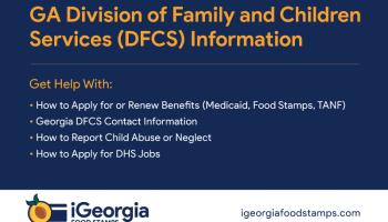 Georgia DFCS Phone Number and Locations – Georgia Food