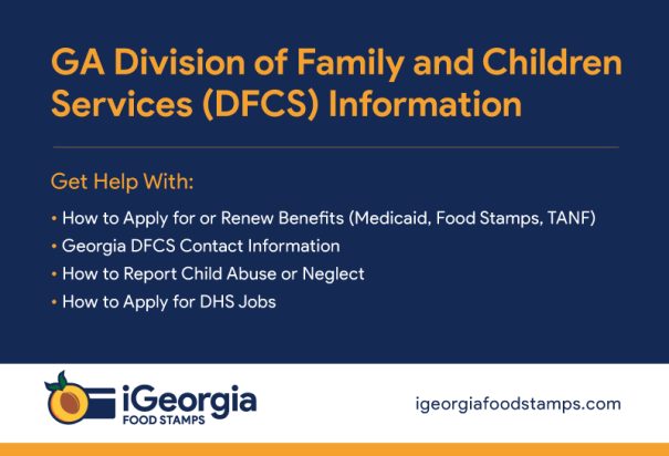 """Georgia DFCS Information"""