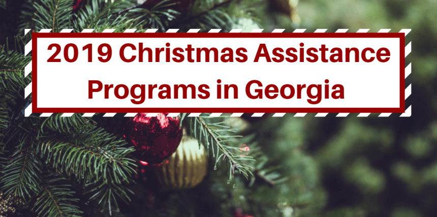 2019 Christmas Assistance Programs in Georgia