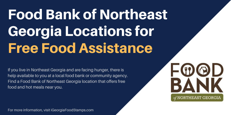 Food Bank of Northeast Georgia Locations for Free Food