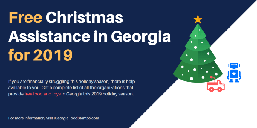 Free Christmas Assistance in Georgia for 2019