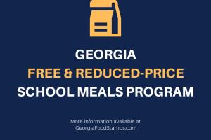 Georgia Free and Reduced Price School Meals Program
