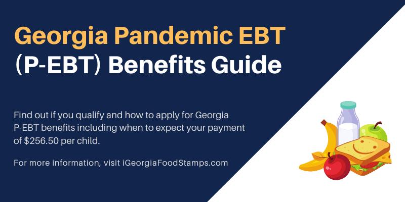 Georgia P-EBT Benefits Guide