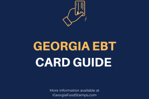 """How do I apply for EBT Card in Georgia"""