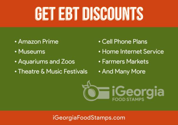 """Georgia EBT Discounts"""
