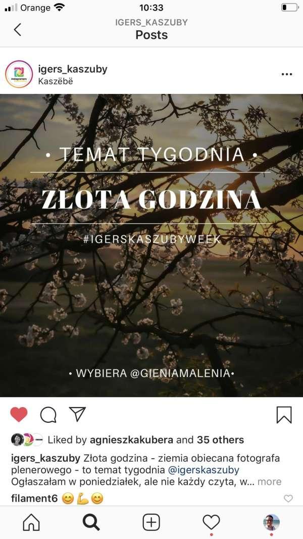 wyzwanie fotograficzne igerskaszub -instagram spoleczność kaszuby